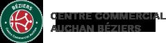 Centre commercial Auchan Béziers Logo