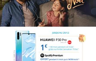 bon plan bouygues telecom centre commercial auchan béziers huawei p30