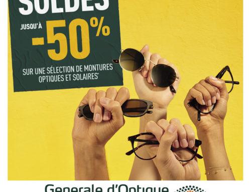 Générale d'Optique : Soldes d'hiver (jusqu'au 4 février 2020)