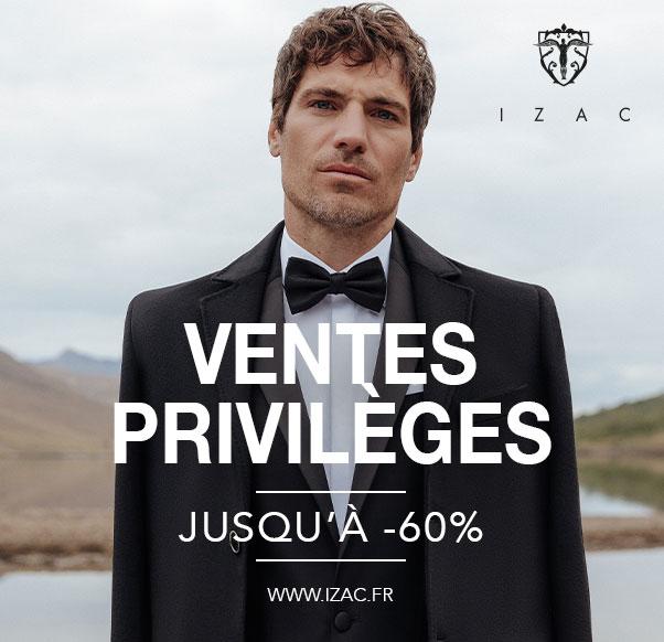 ventes privilèges izac centre commercial auchan béziers