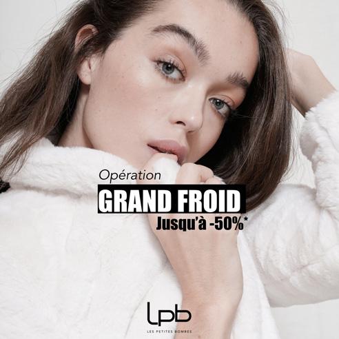 OP grand froid LPB Woman bon plan centre commercial auchan béziers
